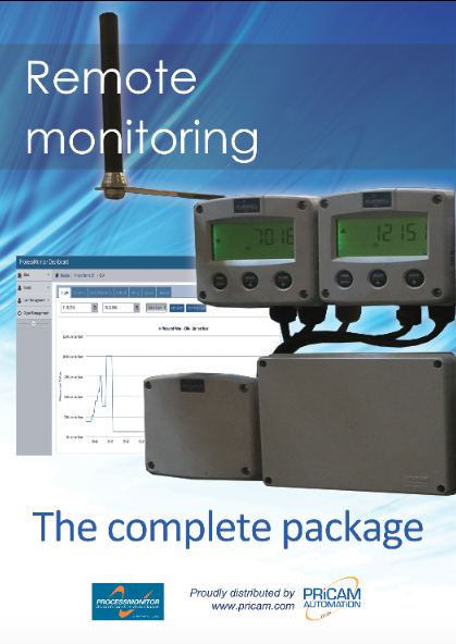 Pricam Automation remote monitoring