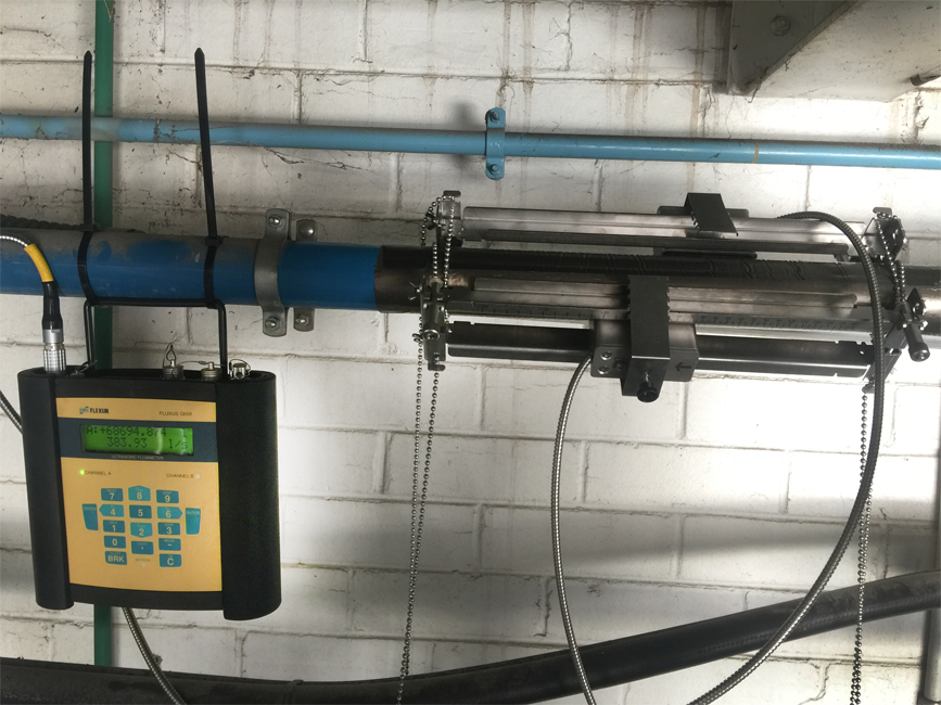 Compressed air measurement Flexim
