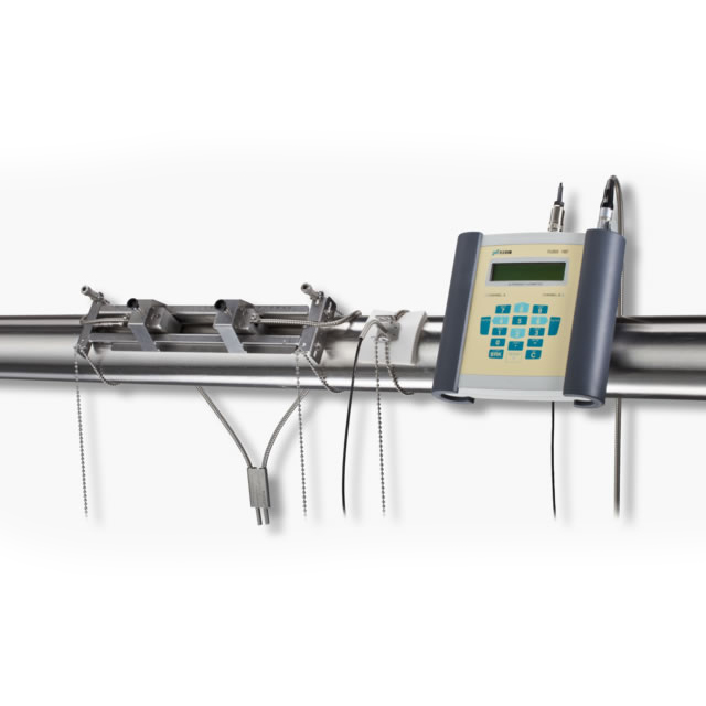 Flexim F601 portable ultrasonic clamp-on flow meter