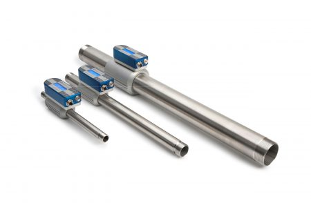 Inline flow meter tube kit